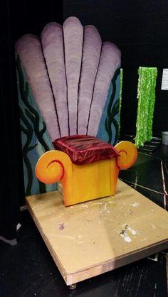 King triton's throne