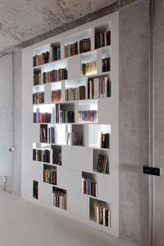 Moscow Apartment By M17 Interior Architecture Design Bookshelves Bookshelf Wall