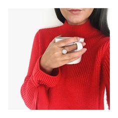 #fashion#red#fashionblog#blogger#fashionista#inspo#inspiration#ootd#coffee#jewelry#jewellery