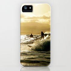 Surf Sunset iPhone Case