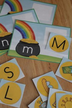 St. Patrick's Day ABC and beginning sound activity for preschool, pre-k, and kindergarten.  A great St. Patrick's Day for your literacy centers.  Letters, alphabet, and St. Patrick's Day fun!