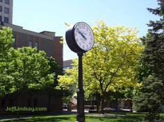 Restored Street Clock