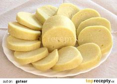 Czech Recipes, Snack Recipes, Snacks, Dumplings, Pickles, Side Dishes, Food And Drink, Pizza, Potatoes
