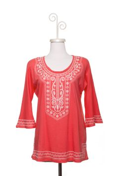 Dressing Your Truth - Type 1 Captivating Coral Top
