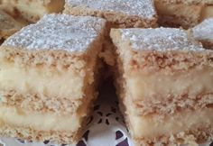 Hungarian Desserts, Hungarian Recipes, Sweet And Salty, Vanilla Cake, Breakfast Recipes, Recipies, Food And Drink, Cooking Recipes, Yummy Food