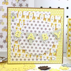 Look at this stunning baby craft using the new Baby Steps collection New Baby Crafts, Craftwork Cards, Baby Steps, Perfect World, Inspirational Gifts, Our Baby, New Baby Products, Kids Rugs, Baby Shower