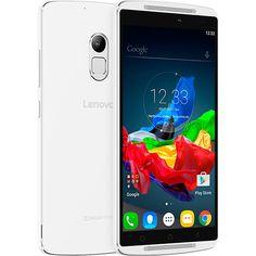 (Shoptime) Smartphone Lenovo Vibe A7010 Dual Chip Desbloqueado Android 5.1 Tela 5.5 ´ 32GB 4G 13MP Processador Octa Core 1.3 GHz - Branco -…