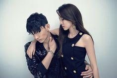 Dara and Park Hyung Seop   Esquire Korea