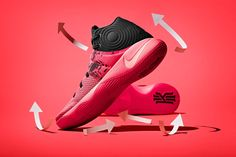 Can the Nike Kyrie 1 sequel make the same impact as its debut?After a successful signature shoe debut in the Nike Kyrie NBA All Star Kyrie Irving and Nike are back to deliver the highly … Nike Basketball, Basketball Sneakers, Kyrie Irving, Cleveland, Irving Shoes, Baskets, Exclusive Sneakers, Sneaker Magazine, White Casual Shoes
