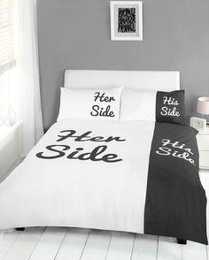 His'n'Hers side sengetøj