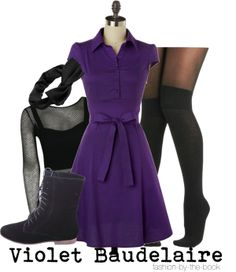 A Series Of Unfortunate Events Violet Dress