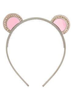 Make doing her hair bear-able. Headband, $16; adelaidenyc.com. - Devon Jarvis