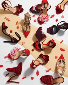 'Fashion Shopping' in andC Magazine Photography by Frank Brandwijk for ChantalJanzen.official I 'Love for Shoes and Never Enough' 'Wannehaves Killer Heels' 'Sweet Candy Reds' 'Photography Stilllife Flatlay' I 'Andsee' 'Andcgram'