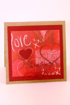This tiny Valentine's Day is one of my personal favorites! It's had to be you. Simple, Sweet, Just right. See it at:  CatieGraceCreations.etsy.com