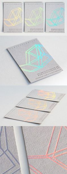 Modern Styling On A Holographic Foil Business Card For A Musician – S. Hsieh Modern Styling On A Holographic Foil Business Card For A Musician Modern Styling On A Holographic Foil Business Card For A Musician Graphic Design Branding, Corporate Design, Business Card Design, Typography Design, Lettering, Geometric Graphic Design, Geometric Patterns, Geometric Designs, Graphisches Design