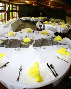 yellow and charcoal grey wedding - Google Search