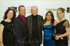 Vegucated cast and crew with bob barker @ Vegucated premier