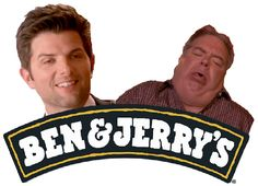 Ben Wyatt and Jerry/Larry/Tarry/Garry Gergich. Parks and Recreation.