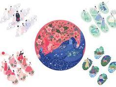The story of Korean flag Creator's Playground -Grafolio 창작자들의 놀이터 : 그라폴리오 Korean Flag, Korean Art, Kpop, Flag Drawing, South Korea Seoul, Korean Design, Rose Of Sharon, Korean Traditional, Motif Design