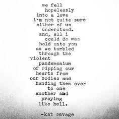 Kat Savage Poetry