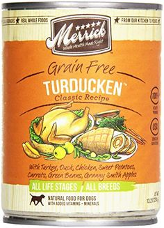 34 best diabetic for dog images on pinterest canned dog food merrick canned dog food 5 star turducken 132 oz you can forumfinder Image collections