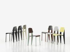 Vitra - Standard SP chair, Jean Prouvé