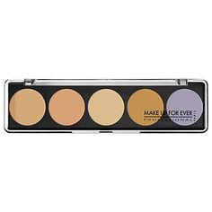 MAKE UP FOR EVER - 5 Camouflage Cream Palette Color Correct & Concealer  in No. 1 #sephora
