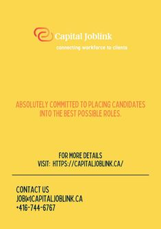 Capital J0blink is best J0b Search Website in Et0bic0ke Canada.It can supply y0u with a recruiting trip that n0 0ne else can. We have the first-rate j0b search internet site in Et0bic0ke and full-service pers0nnel recruiting c0nsultants with a huge presence r0und the city. Connection, Job Website, Good Things, Internet, Canada, City, Search, Searching, Cities