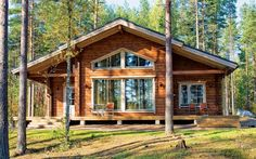 New House Plans Cottage Style Craftsman Ideas Craftsman House Plans, New House Plans, Dream House Plans, Small House Plans, Craftsman Style, Cottage Plan, Cottage Style, Residential Log Cabins, Cabins And Cottages