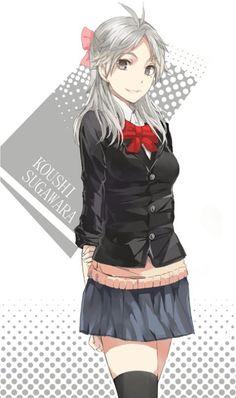 Haikyuu Sugawara genderbent