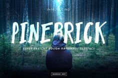 Pinebrick Typeface - Free Font of The Week from FontBundles.net