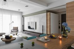 Fresh And Elegant Residential In Taiwan - Picture gallery