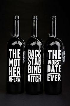 Bitchfest #wine #packaging