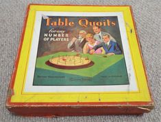 "Table Quoits - Vintage 1920's ""Glevum Games"" Game 1920s, Board Games, Table, Vintage, Ebay, Desk, Bench, Tabletop Games, Tabletop"