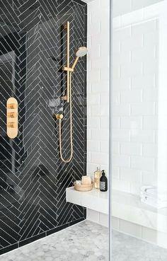 5 Bathroom Design Ideas That Show Why It's Time for an Upgrade Badezimmer Einrichtung Badezimmer Fliesen Ideen 🎗 Bathroom Tile Designs, Bathroom Interior Design, Modern Interior Design, Art Deco Bathroom, Marble Interior, Bathroom Tile Patterns, Teen Bathroom Decor, Art Deco Tiles, Wall Tiles Design