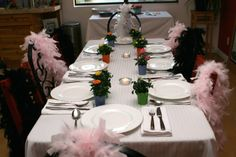 HOW TO MAKE BRIDAL SHOWER FEATHER BOA WREATH | Text: January Asia. Copyright © January Asia & Steven Hui. All ...