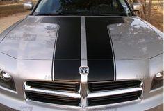 2006 2010 Dodge Charger Hood Stripes Decal kit hemi
