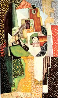 creative artisans: Synthetic Cubist Still-Life Louis Marcoussis