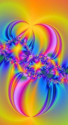# Digital art  # Colorful Art, Psychedelic Art, Fractal Art, Wallpaper, Beautiful Artwork, Amazing Art, Art, Abstract, Beautiful Art