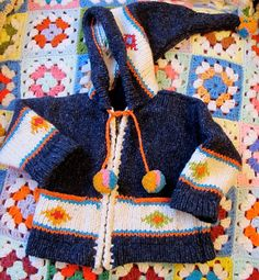 Handmade Baby Sweater 912 Months by lishyloo on Etsy, $10.00