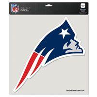 New England Patriots 8x8 Die Cut Decal