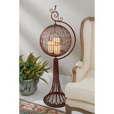 Design Toscano Sun Porch Victorian Birdcage with Stand