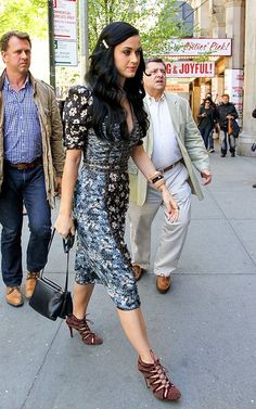 Katy Perry going to see the show 'Kinky Boots' in New York City on May 1, 2013