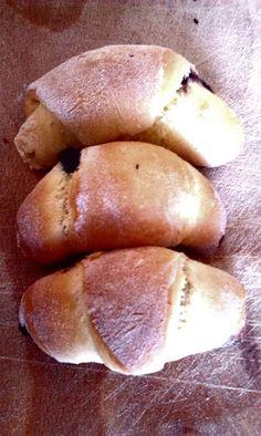 Yeast croissants.