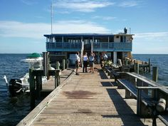 Fire damages pier restaurant on Anna Maria today September 30, 2013