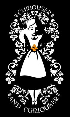 Alice in Wonderland by Dan Beltran. #Alice, #AliceinWonderland
