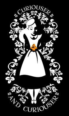 Alice in Wonderland by Dan Beltran. #Alice, #AliceinWonderland