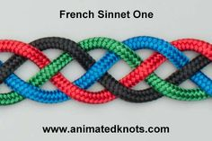 Tutorial on French Sinnet One Tying