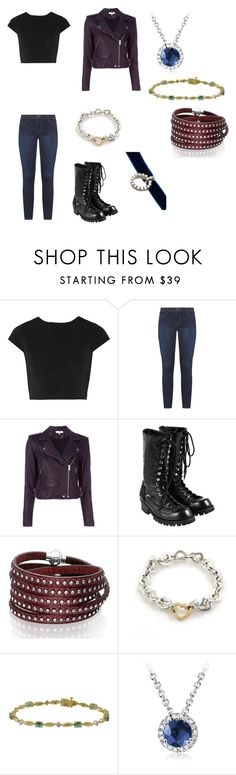 """Skylar Jones Once Upon A Time Fanfictio"" by starwarsqueen on Polyvore featuring Alice + Olivia, Dorothy Perkins, IRO, Comme des Garçons, Sif Jakobs Jewellery, Tiffany & Co. and DANNIJO"