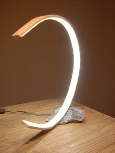 Tischlampe, Holz auf Stein Projects, Stones, Timber Wood, Log Projects, Blue Prints